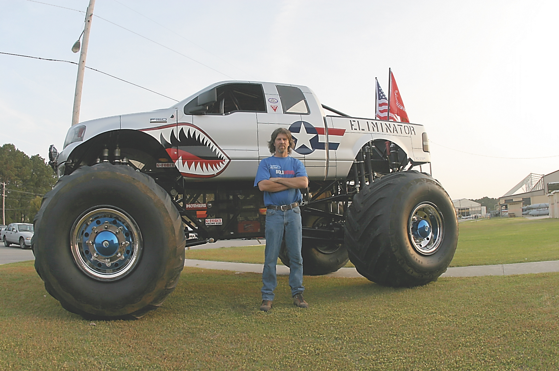 Technik der Monster Trucks