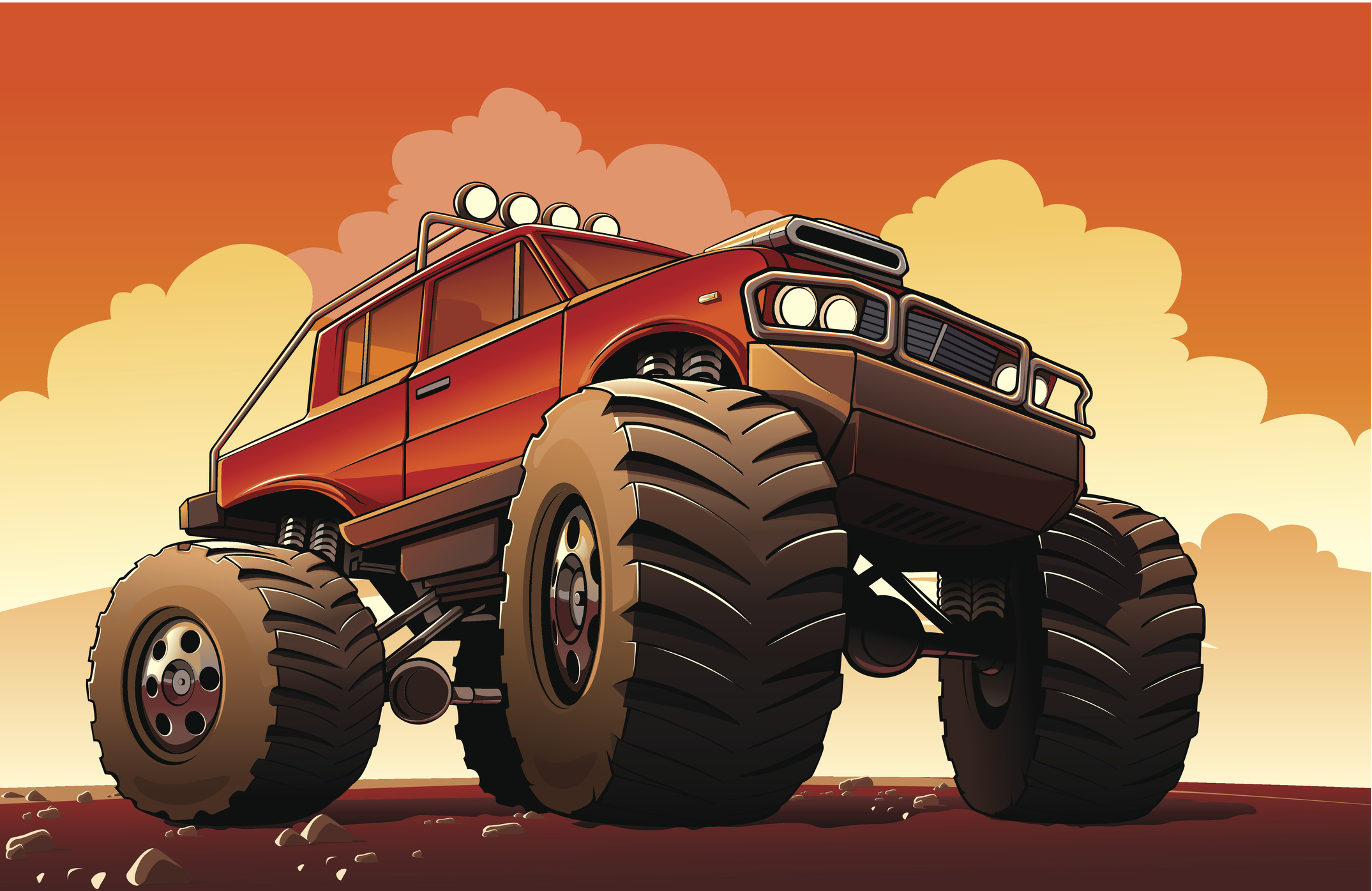 Geschichte der Monster-Trucks